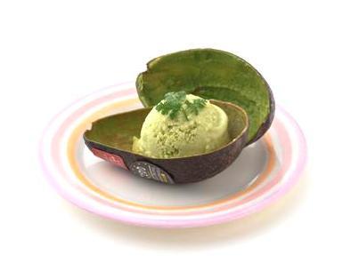 アボカドのアイスクリーム